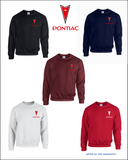 Pontiac Embroidered Sweatshirts