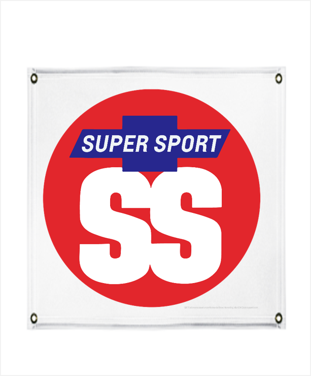 CHEVROLET ROUND 1963 SUPERSPORT PROMO BANNER