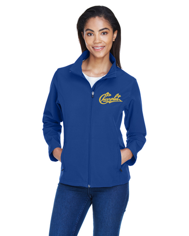 Chevrolet 1911 Script LADIES Soft Shell Lightweight jacket