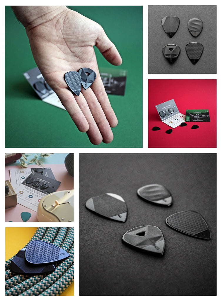 Guitar Pick Recycled