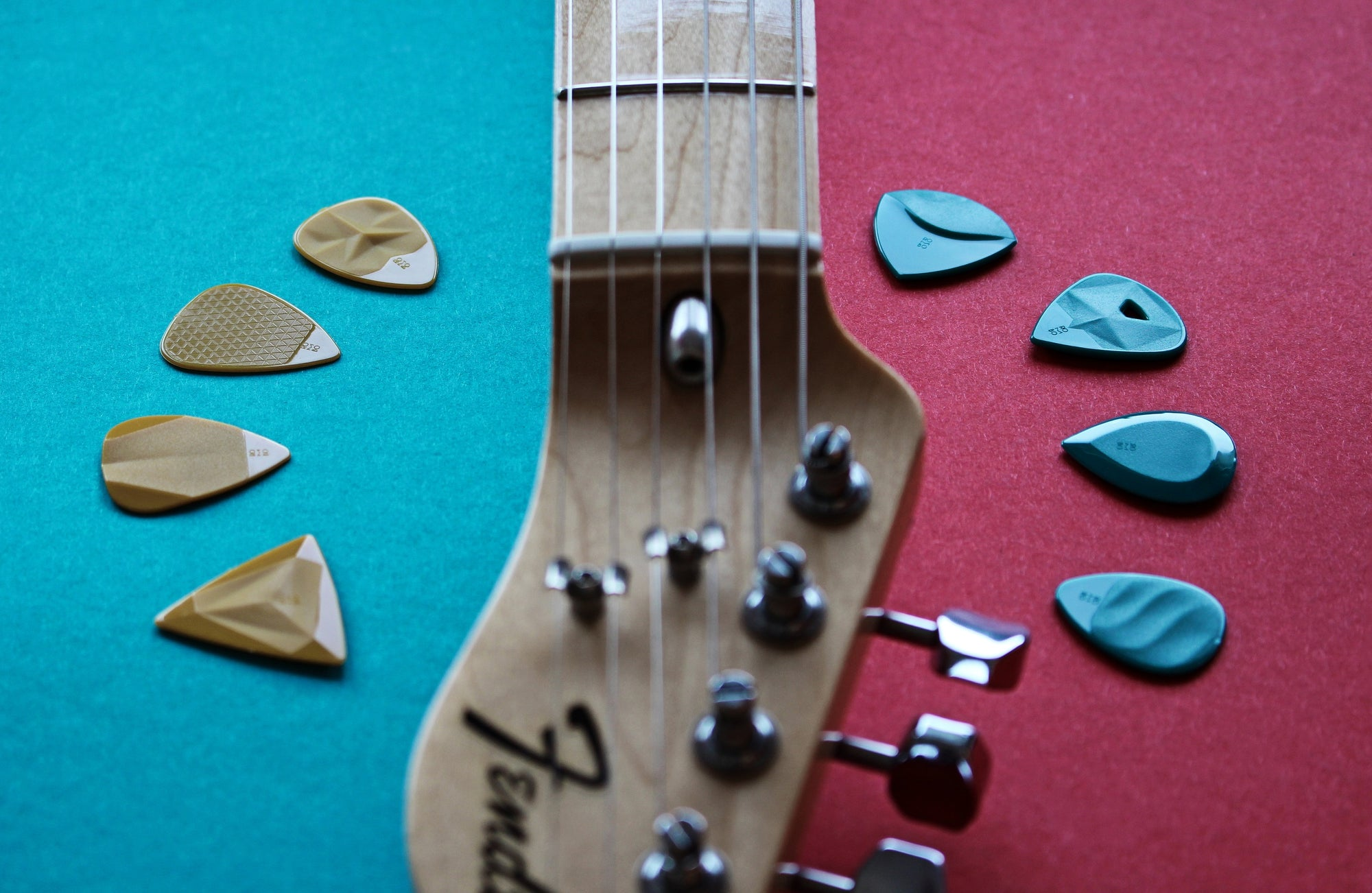 guitar picks rombopicks thin and thick