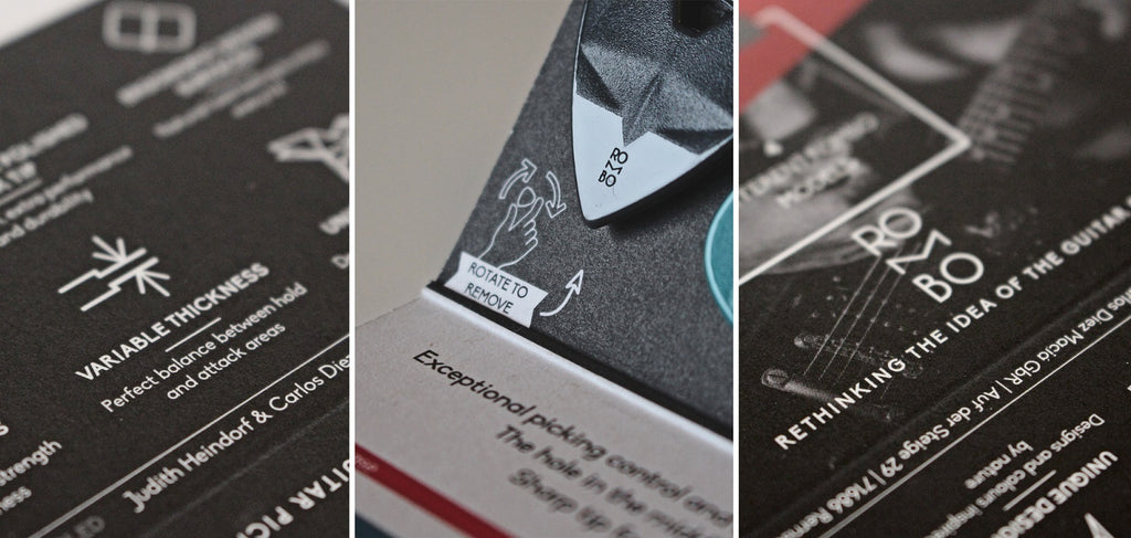 Guitar Picks Packaging