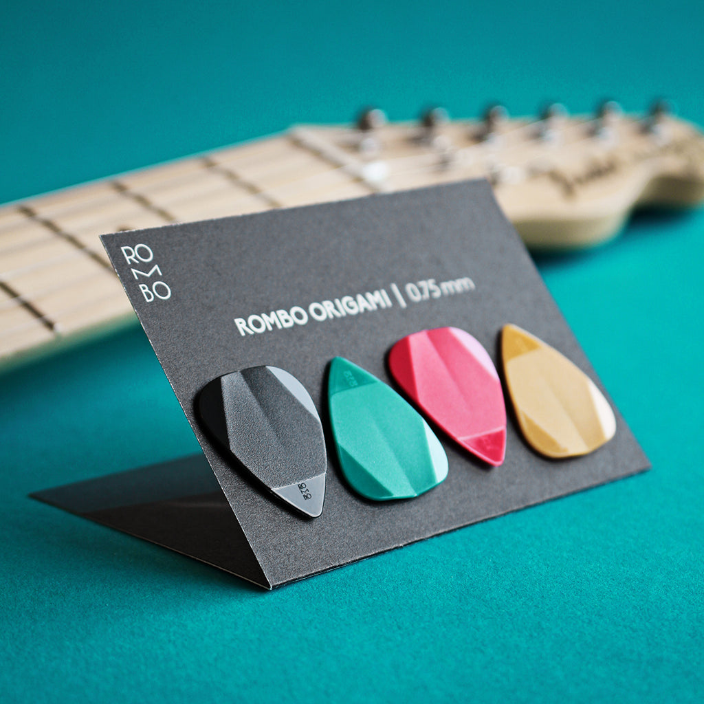guitar pick set rombopicks origami
