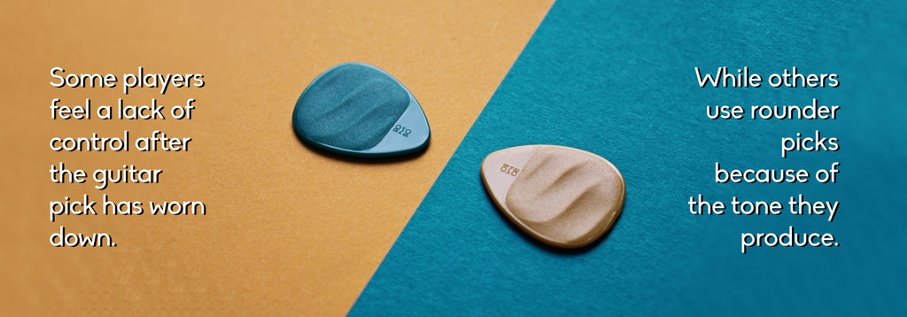 Guitar Pick Rounded