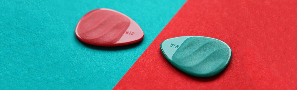 Guitar pick colors