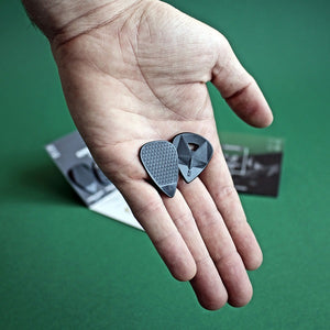 Guitar Pick Try Out Mix Eco-Black Rombo (4 Guitar Picks) - plectrum