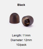 Load image into Gallery viewer, StarTips - 5 Pair Pack Premium Silicone Eartips for Westone and Shure