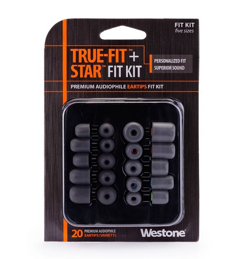 Fit Kit for all Shure, Westone, Klipsch and Etymotic