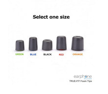 Load image into Gallery viewer, TRUE-FIT Foam Tips - 5 Pair Pack Eartips for All Shure and Westone