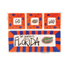 Florida Gators 4-Section Platter