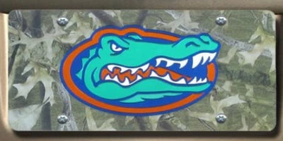 Camo-Gator-Head-License-Tag