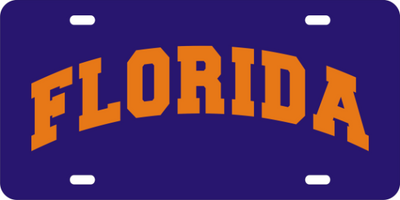 Florida-Big-Block-Letters-License-Plate