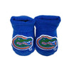 Florida Gators New Born Booties Gift Box