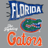Florida Gators Retro Mascot Flag T-Shirt