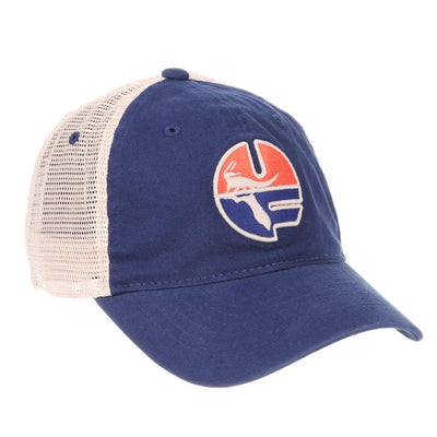 Florida Gators University Pell Logo Mesh Hat