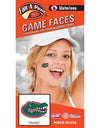 Florida Gators Waterless Gator Head Temporary Tattoos