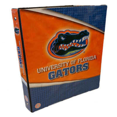 Florida Gator Notebook Binder