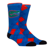 Florida Gators HyperOptic Argyle Crew Socks