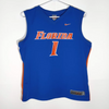 Florida Gators Youth #1 Basketball Nike Jersey Screen Print