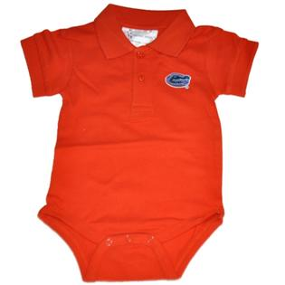 Florida Gator Infant Gator Head Polo Onesie