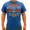 Florida vs Auburn ESPN College GameDay Score T-Shirt