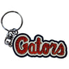 Florida Gators Diamond Gator Script Keychain