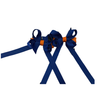 Florida Gators Velcro Hair Bow Pair