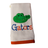 Florida Gators Burp Cloth (w/ Gator Head)