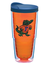 Florida Gators Tervis Orange Albert Emblem Tinted Clear Cup