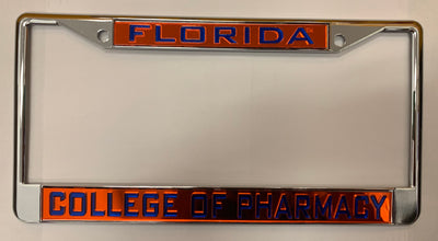 Florida Gators College Of Pharmacy License Plate Frame