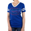 Florida Gators Rhinestone Gator Head V-Neck T-Shirt