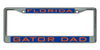 Florida Gator Dad License Plate Frame