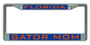 Florida Gator Mom License Plate Frame