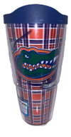 Florida Gators Tervis Guy Harvey Plaid Tumbler