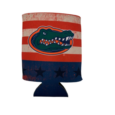 Florida Gators Vintage Flag Can Koozie