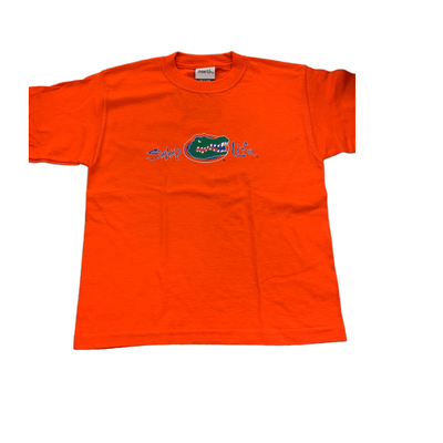Florida Gators Gators Head Swamp Life Youth T-Shirt