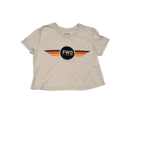 Load image into Gallery viewer, FWD Wings Ladies Crop Tee