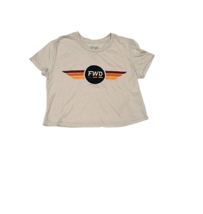 FWD Wings Ladies Crop Tee