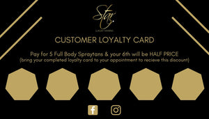Branded Client Loyalty Cards (Pack of 50)