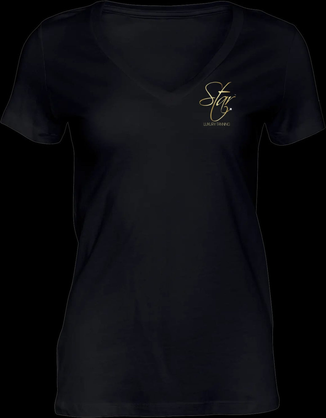 Branded Ladies Fitted T-Shirt