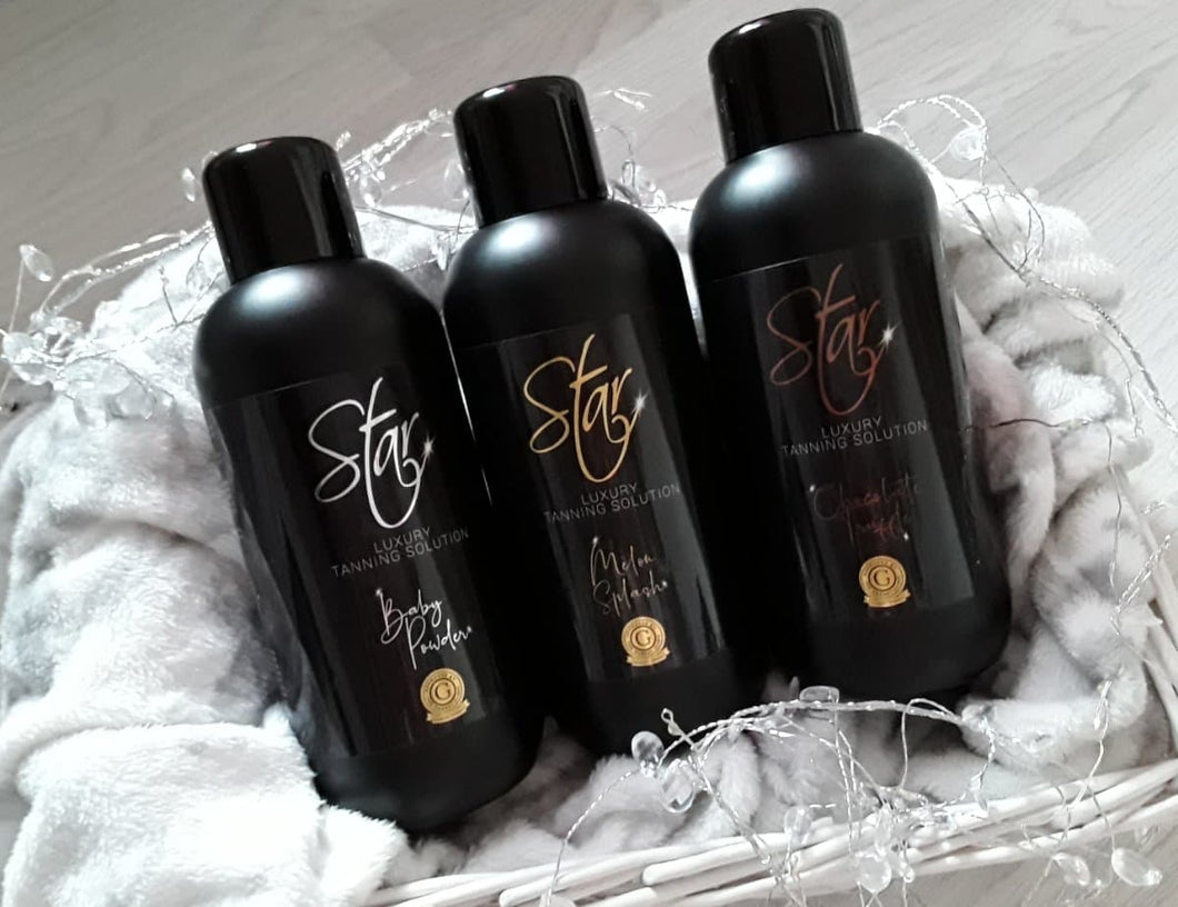20 Pack Luxury Spray Tanning Solution - 1 Litre