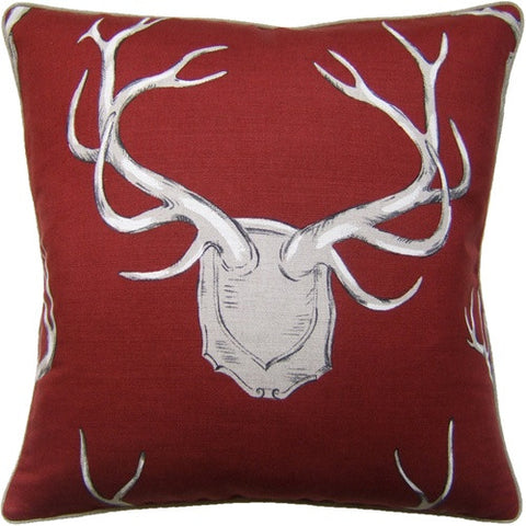 Antler Throw Pillows