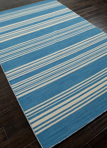 Bermuda Blue Striped Rug