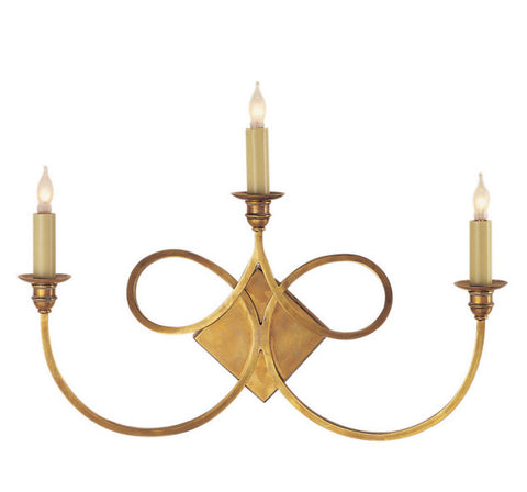 Double Twist Sconce  - Lighting