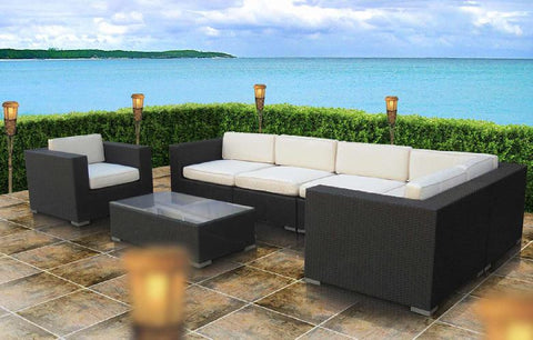 Saratoga 7 piece Outdoor Sectional