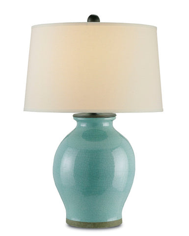 Fittleworth Blue Table Lamp