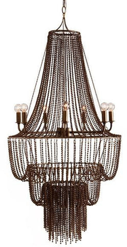 Maxim Iron Beaded Chandelier - Arteriors Home