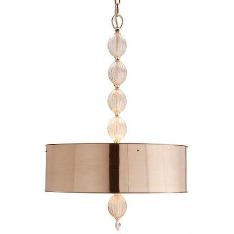 McKale Nickel and Crystal Pendant - Arteriors Home
