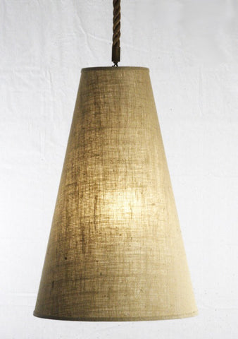Tapered Cone Pendant Light
