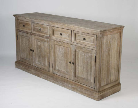 Albert Buffet - gray limed oak furniture
